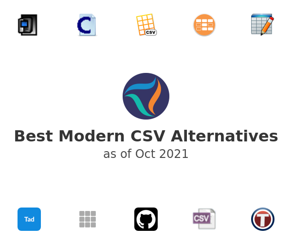 Best Modern CSV Alternatives