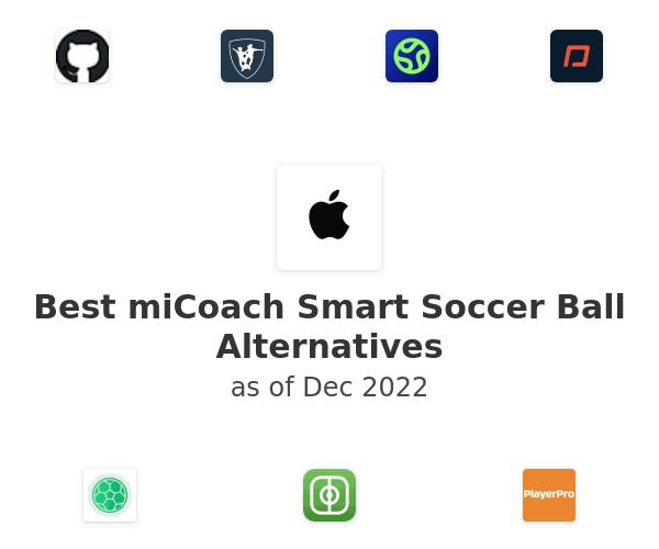 Best miCoach Smart Soccer Ball Alternatives