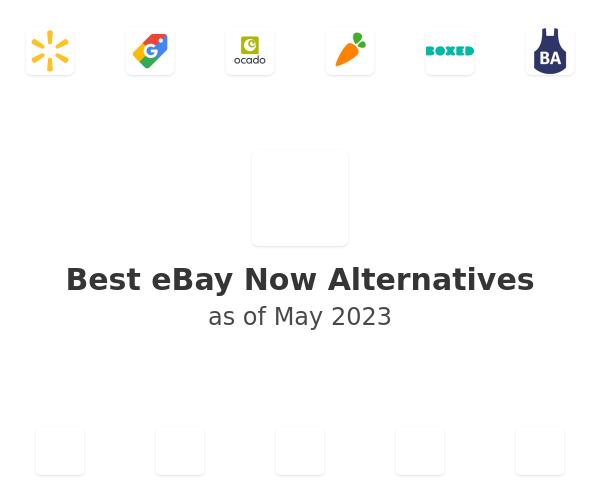 Best eBay Now Alternatives