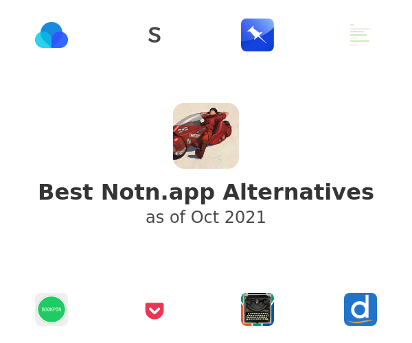 Best Notn.app Alternatives