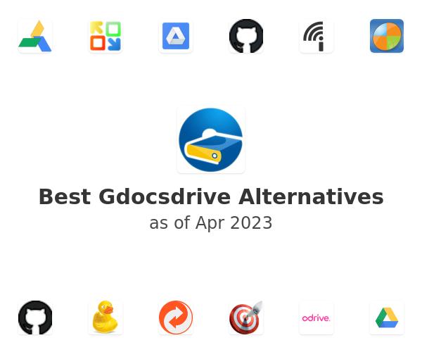 Best Gdocsdrive Alternatives