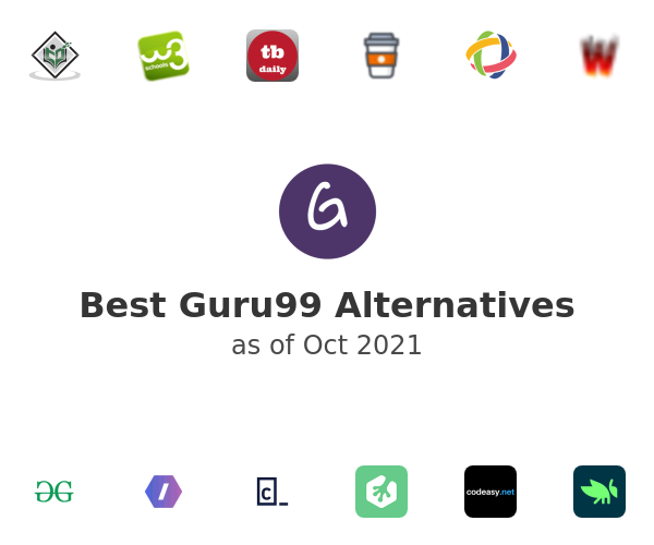 Best Guru99 Alternatives