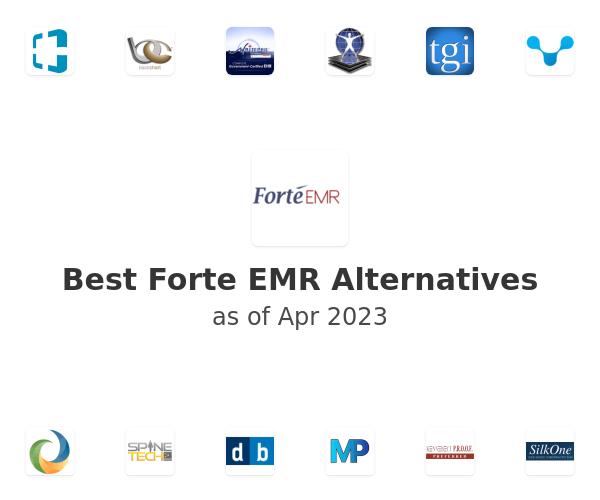 Best Forte EMR Alternatives
