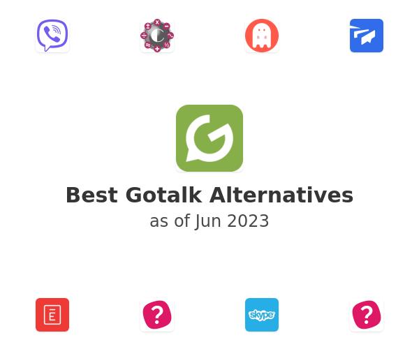 Best Gotalk Alternatives