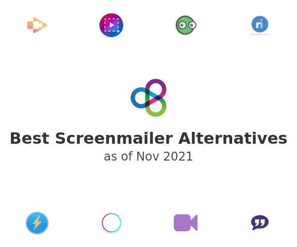 Best Screenmailer Alternatives