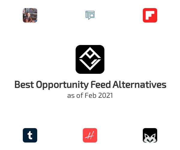 Best Opportunity Feed Alternatives