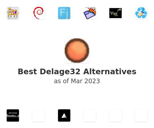 Best Delage32 Alternatives