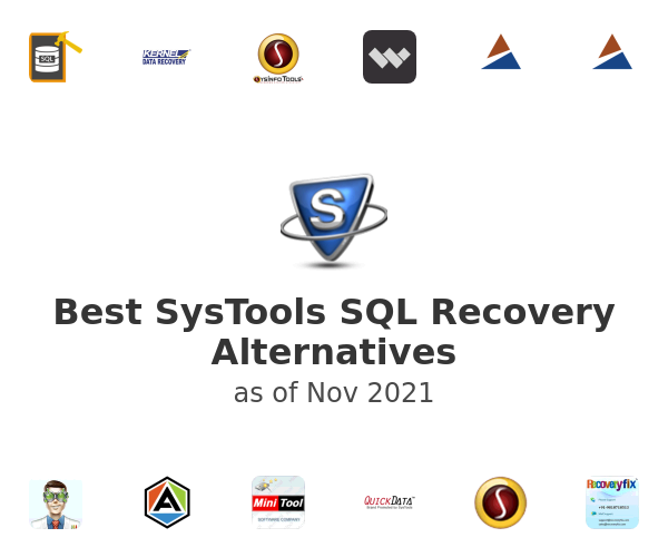 Best SysTools SQL Recovery Alternatives