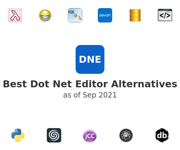 Best Dot Net Editor Alternatives