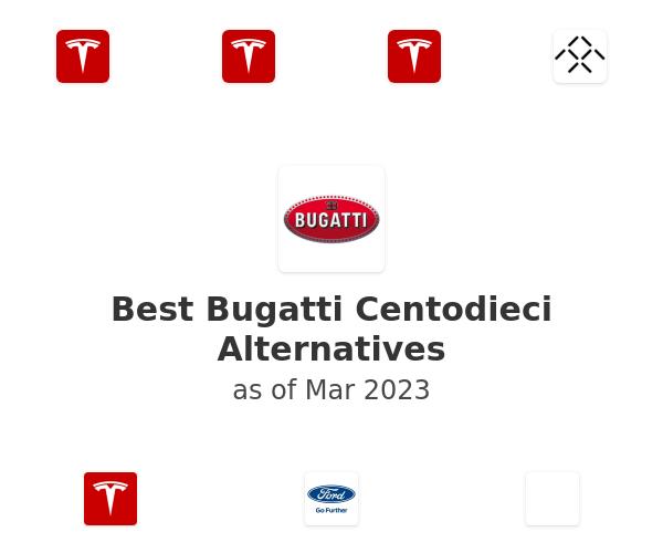 Best Bugatti Centodieci Alternatives