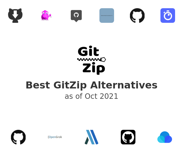 Best GitZip Alternatives