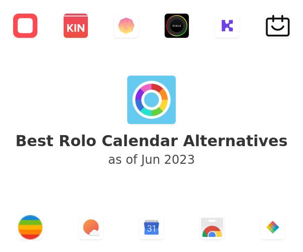 Best Rolo Calendar Alternatives