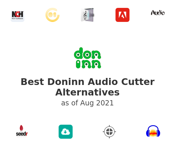 Best Doninn Audio Cutter Alternatives