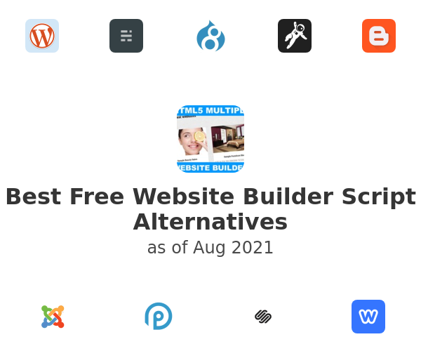 Best Free Website Builder Script Alternatives