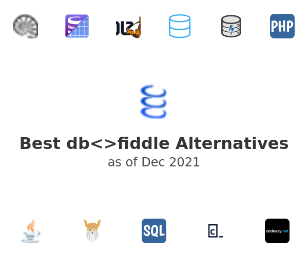 Best db<>fiddle Alternatives