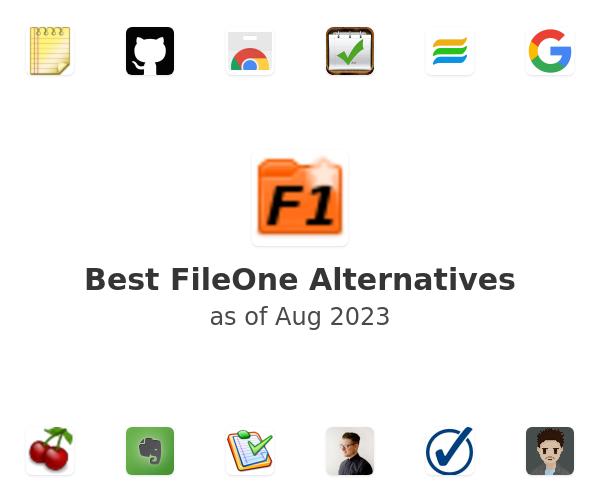 Best FileOne Alternatives