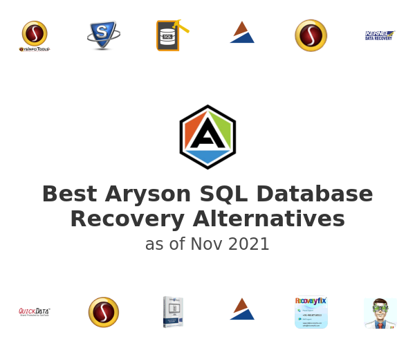 Best Aryson SQL Database Recovery Alternatives