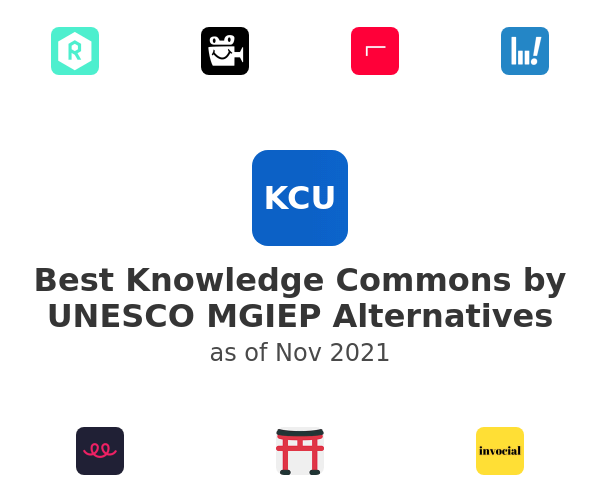 Best Knowledge Commons by UNESCO MGIEP Alternatives