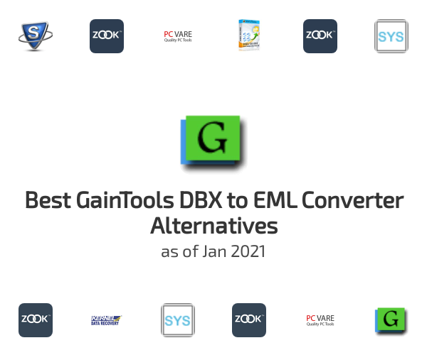 Best GainTools DBX to EML Converter Alternatives