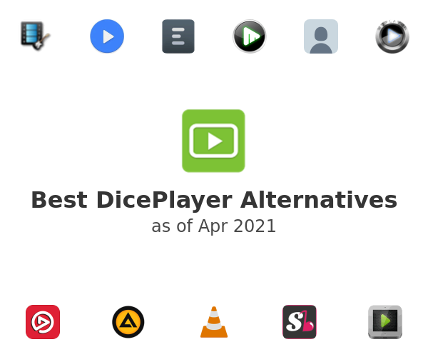 Best DicePlayer Alternatives