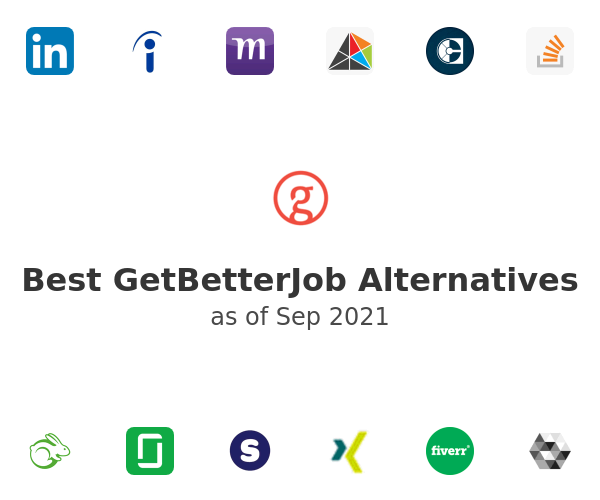 Best GetBetterJob Alternatives