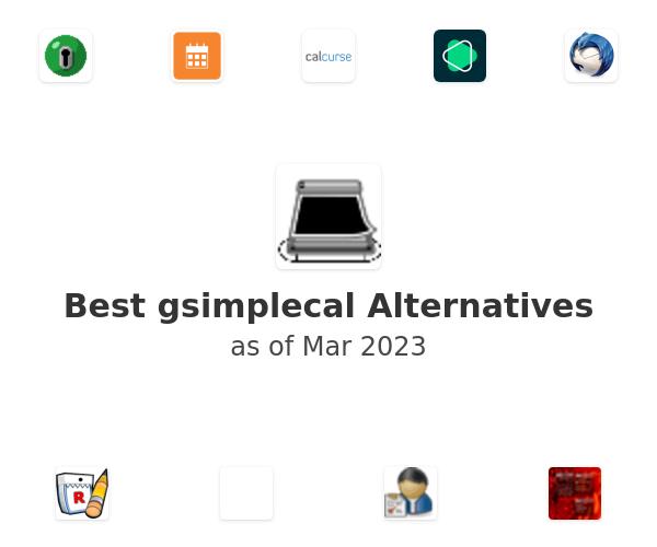 Best gsimplecal Alternatives