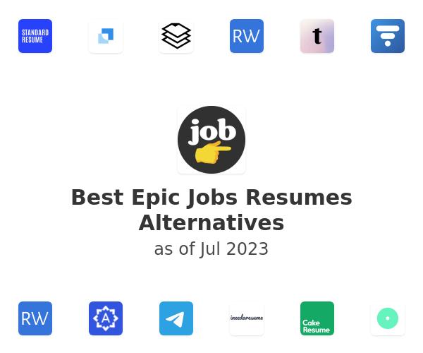 Best Epic Jobs Resumes Alternatives