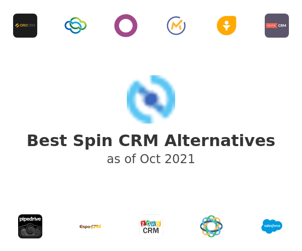 Best Spin CRM Alternatives