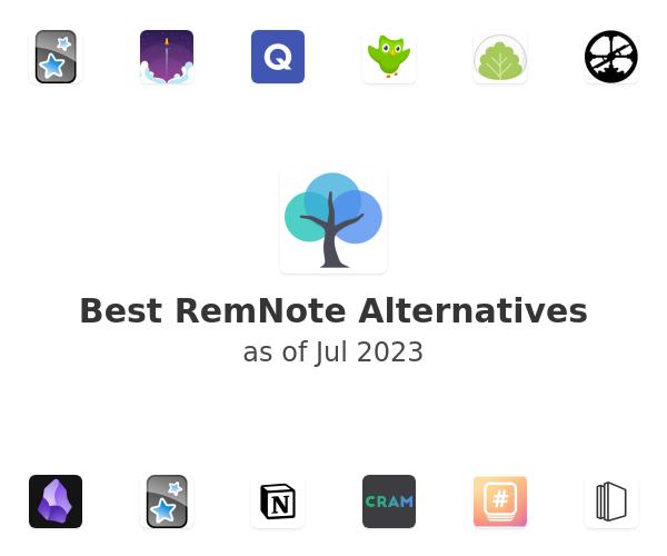Best RemNote Alternatives
