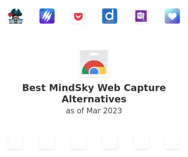 Best MindSky Web Capture Alternatives