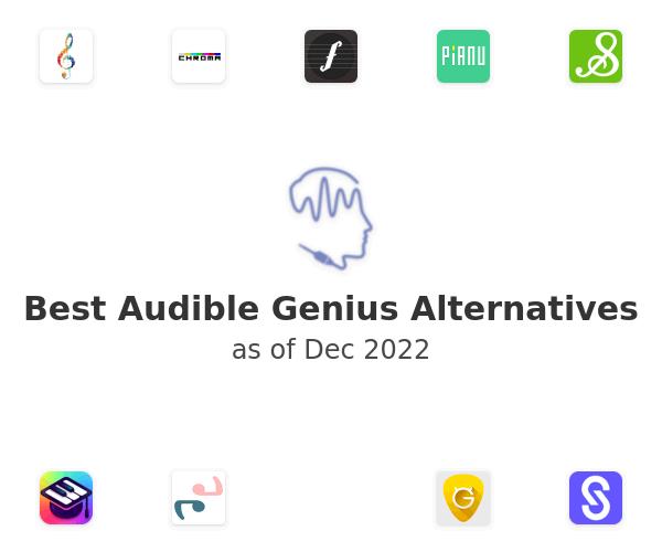 Best Audible Genius Alternatives