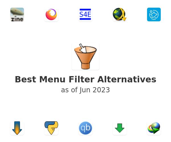Best Menu Filter Alternatives