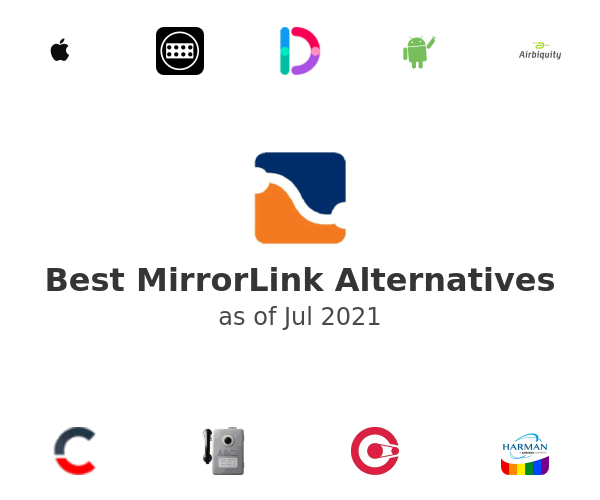 Best MirrorLink Alternatives