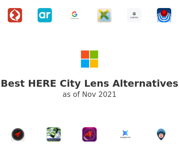 Best HERE City Lens Alternatives
