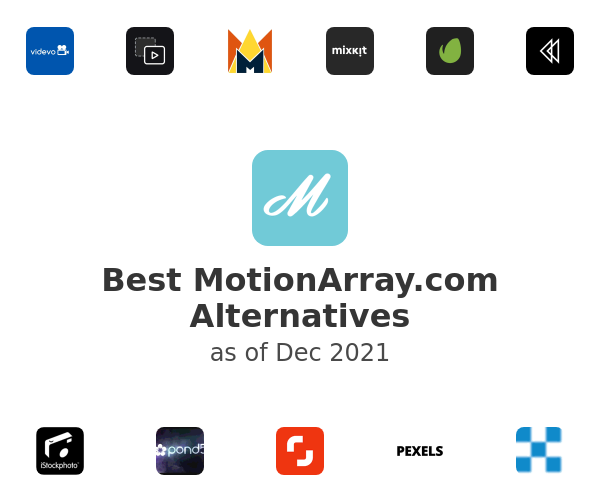 Best MotionArray.com Alternatives