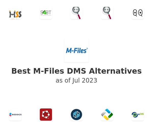 Best M-Files DMS Alternatives
