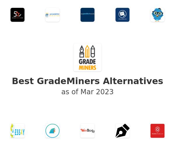 Best GradeMiners Alternatives