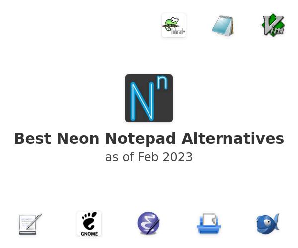 Best Neon Notepad Alternatives
