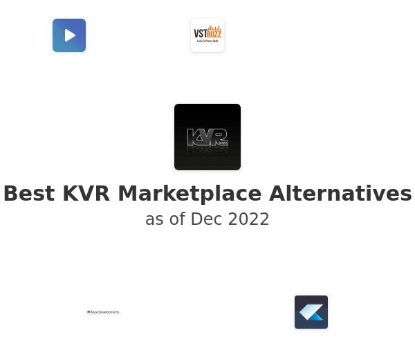 Best KVR Marketplace Alternatives