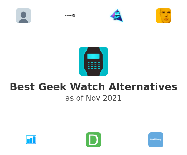 Best Geek Watch Alternatives