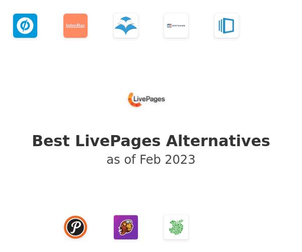 Best LivePages Alternatives
