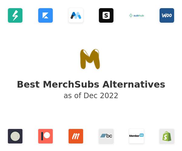 Best MerchSubs Alternatives