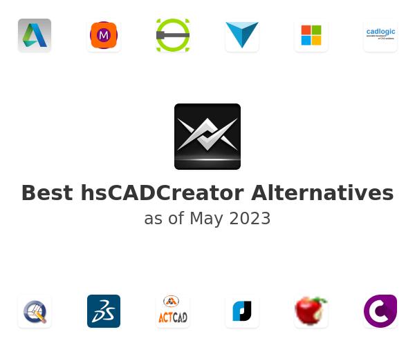 Best hsCADCreator Alternatives