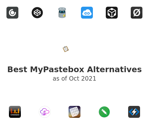 Best MyPastebox Alternatives