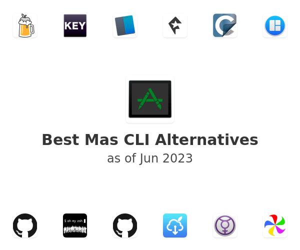 Best Mas CLI Alternatives