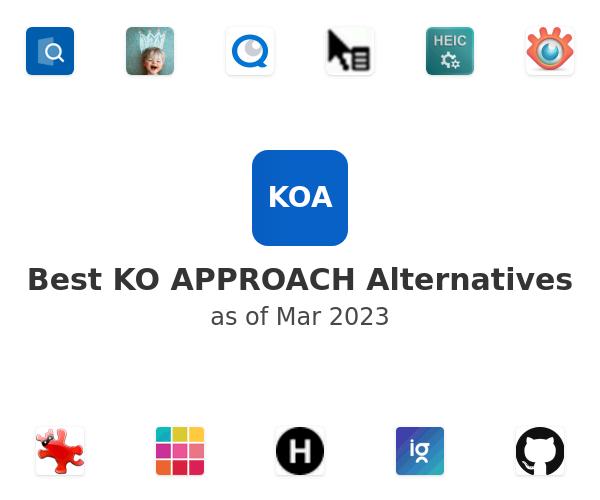 Best KO APPROACH Alternatives