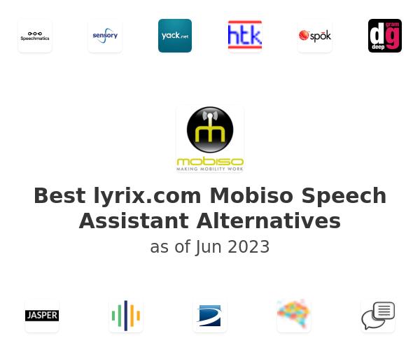 Best Mobiso Speech Assistant Alternatives