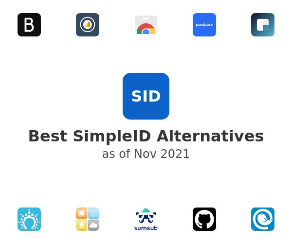 Best SimpleID Alternatives
