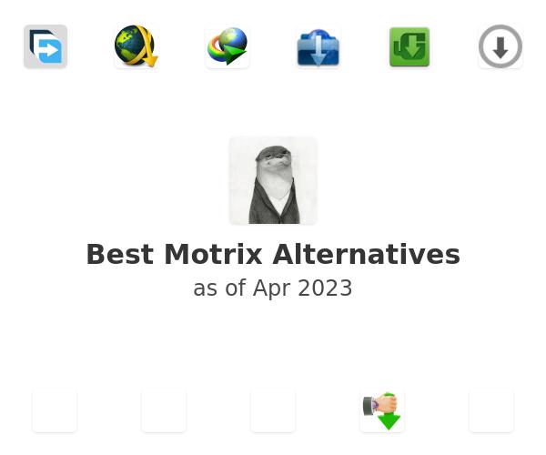 Best Motrix Alternatives