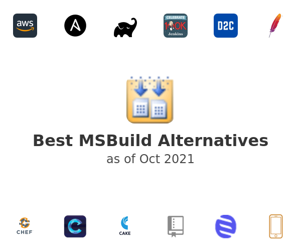 Best MSBuild Alternatives